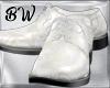 White G Art Wedding Shoe
