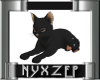 D.Grey Cat Animated Pose