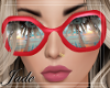 RED SCARLET SUNGLASSES