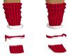 Child Christmas Fur Boot