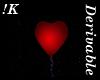 !K! Heart Balloon Mesh