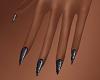 FG~ Geisha Black Nails