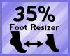 Foot Scaler 35%