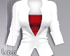 ! L! White Red Jacket