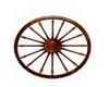 Oak Wagon Wheel