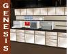 Ebony Silk Super Cabinet