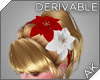~AK~ Poinsettia Headband