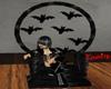 Bat slave throne/pose
