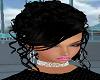 Sweet Black Evening Hair