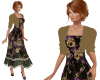 TF* Golden Roses Dress
