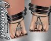 Black Penta Feet