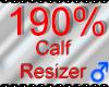 *M* Calf Resizer 190%