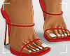 ṩLena Heels Red