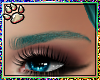 Teal Eyebrows 01