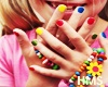 H! Baby Nails Colours