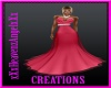 Hot Pink Gala Gown
