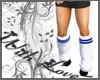 {WL} BBW Tube Socks Blu