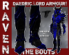 DAEDRIC BOOTS BLUE SLVR!