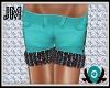~JM~Winter Mint Shorts