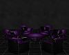 Purple seating