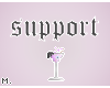 † support.