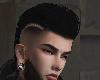 Viking Cain Black Hair