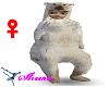 White bear suit