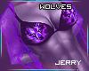! Wolves Lace Top P