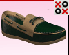 Green Marine Loafers