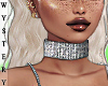 ⓦ BLAZE Diamond Choker