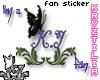 !KJ Fan Sticker #2