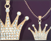 Gold Chain King Female
