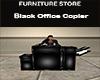 Black Office Copier