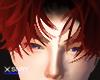 Kyri hair . red