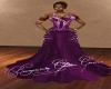 Burgundy Glitter Gown