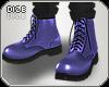 Dz. Martens Blue Boots