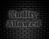Nudity Allowed Sign B
