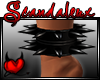 |Sx|PVC Spike Anklet L