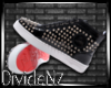 :D RedB Spiked Leather