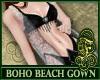 Boho Beach Gown White