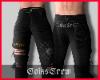 CC. Ripped Jeans Black 2