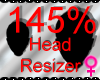 *M* Head Resizer 145%