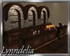 ~L~  Wood Stone Bar- REF