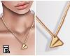 ❥ Thin Gold Chain.