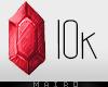 .10k Sticker.