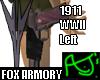 1911WWII Left -Fox Armor