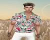 Sage Floral Shirt