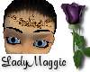 Brass Roses Headdress