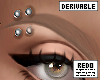 DRV brow piercings R