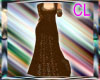 Chocolate Lace Gown